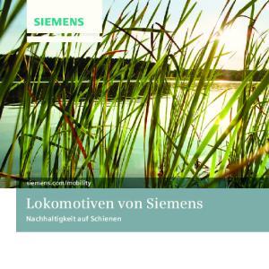 Lokomotiven von Siemens