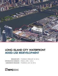 LONG ISLAND CITY WATERFRONT MIXED-USE REDEVELOPMENT