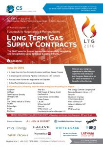 Long Term Gas Supply Contracts
