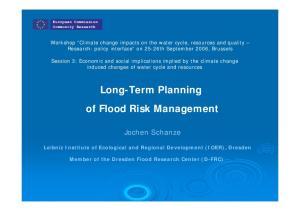 Long-Term Planning of Flood Risk Management