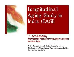 Longitudinal Aging Study in India (LASI)