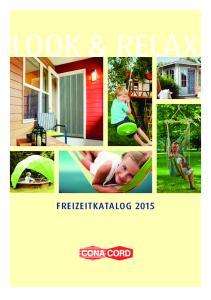 LOOK & RELAX FREIZEITKATALOG 2015