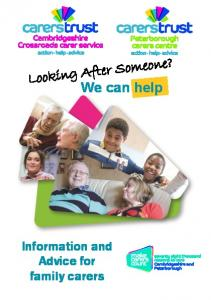 Looking After Someone? We can help