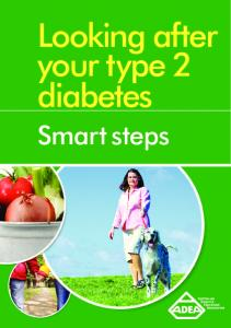 Looking after your type 2 diabetes. Smart steps