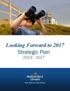 Looking Forward to 2017 Strategic Plan