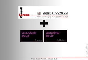 Lorenz Consult ZT GmbH + Autodesk Revit. Lorenz Consult ZT GmbH