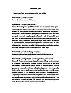 Lorenzo Sotelo Agesta. Lorenzo Sotelo Agesta es miembro de la comunidad vasca de Minas