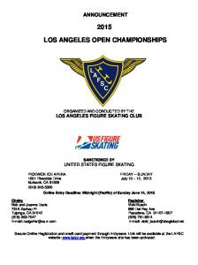 LOS ANGELES OPEN CHAMPIONSHIPS