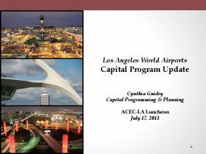 Los Angeles World Airports Capital Program Update
