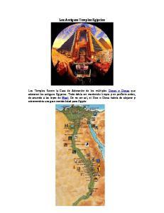 Los Antiguos Templos Egipcios