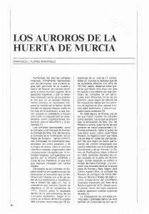 LOS AUROROS DE LA HUERTA DE MURCIA