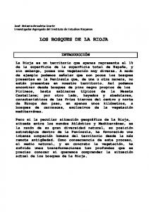 LOS BOSQUES DE LA RIOJA