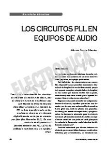 LOS CIRCUITOS PLL EN EQUIPOS DE AUDIO