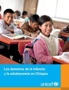 Los derechos de la infancia y la adolescencia en Chiapas
