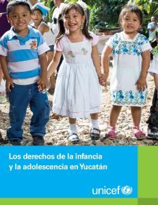 Los derechos de la infancia y la adolescencia en Yucatán