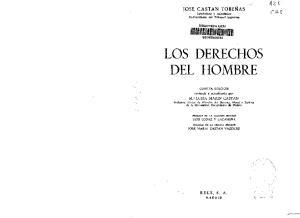 LOS DERECHOS DEL HOMBRE