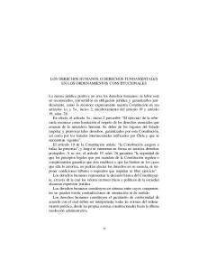 LOS DERECHOS HUMANOS O DERECHOS FUNDAMENTALES EN LOS ORDENAMIENTOS CONSTITUCIONALES