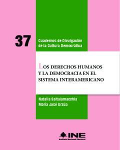 LOS DERECHOS HUMANOS Y LA DEMOCRACIA EN EL SISTEMA INTERAMERICANO