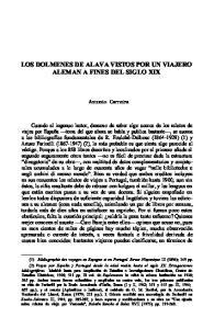 LOS DOLMENES DE ALAVA VISTOS POR UN VIAJERO ALEMAN A FINES DEL SIGLO XIX