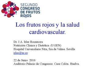 Los frutos rojos y la salud cardiovascular