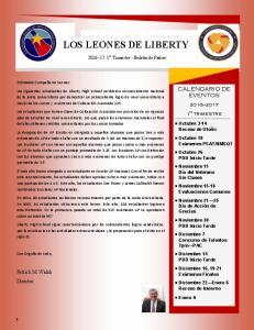 LOS LEONES DE LIBERTY