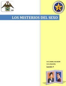 LOS MISTERIOS DEL SEXO