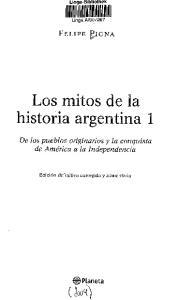 Los mitos de la historia argentina 1
