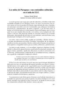 Los mitos de Paraguay y sus contenidos culturales en el aula de ELE