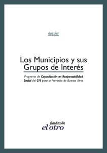 Los Municipios y sus Grupos de Interés