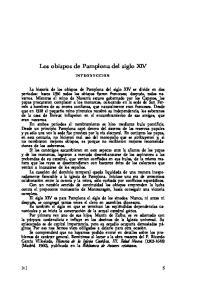 Los obispos de Pamplona del siglo XIV