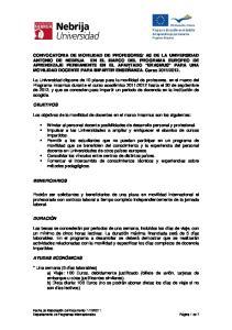 Los objetivos de la movilidad de docentes en el marco Erasmus son los siguientes:
