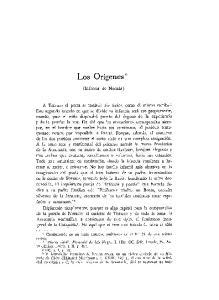 Los Origenes* (Infancia de Neruda)