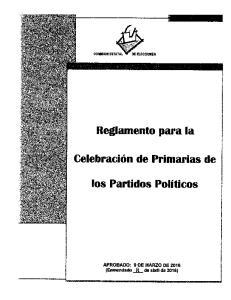 los P rtl'*dos Politicos