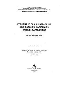LOS PARQUES NACIONALES