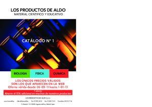 LOS PRODUCTOS DE ALDO