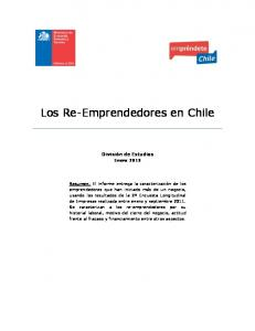 Los Re-Emprendedores en Chile