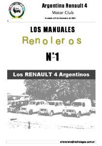 Los RENAULT 4 Argentinos