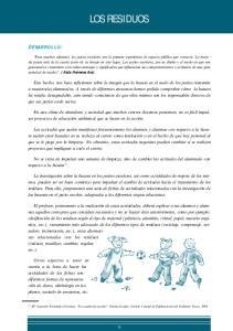 LOS RESIDUOS DESARROLLO: