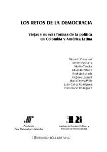 LOS RETOS DE LA DEMOCRACIA