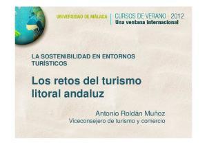 Los retos del turismo litoral andaluz