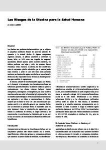 Los Riesgos de la Dioxina para la Salud Humana