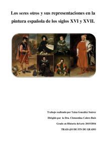 Los seres otros y sus representaciones en la pintura española de los siglos XVI y XVII