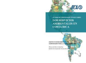 LOS SERVICIOS AMBIENTALES EN COSTA RICA