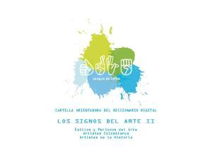 LOS SIGNOS DEL ARTE II