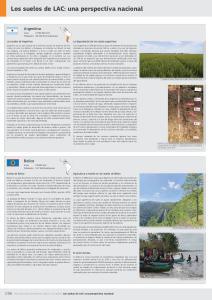 Los suelos de LAC: una perspectiva nacional