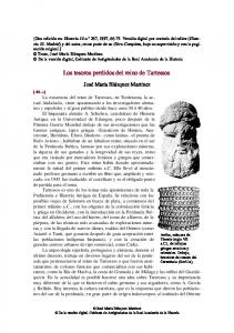 Los tesoros perdidos del reino de Tartessos