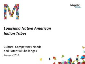 Louisiana Native American Indian Tribes