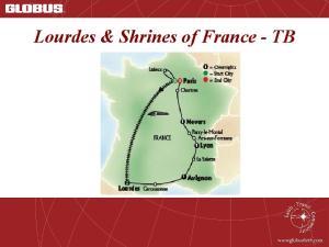 Lourdes & Shrines of France TB