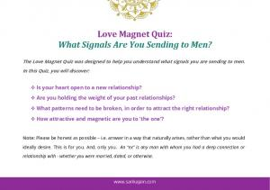 Love Magnet Quiz: What Signals Are You Sending to Men?