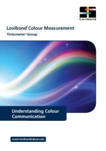 Lovibond Colour Measurement